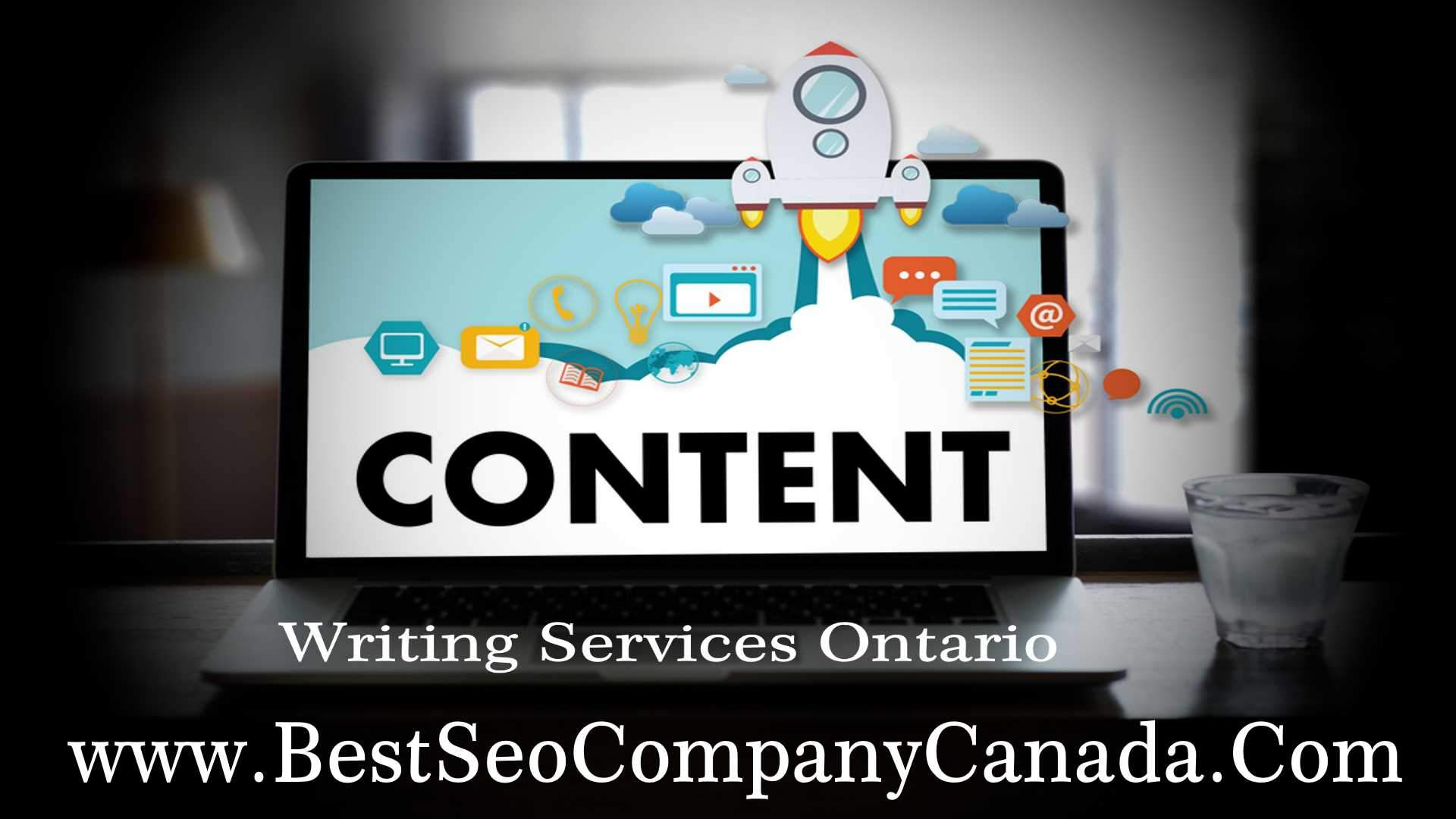 Professional content writing services in Ontario