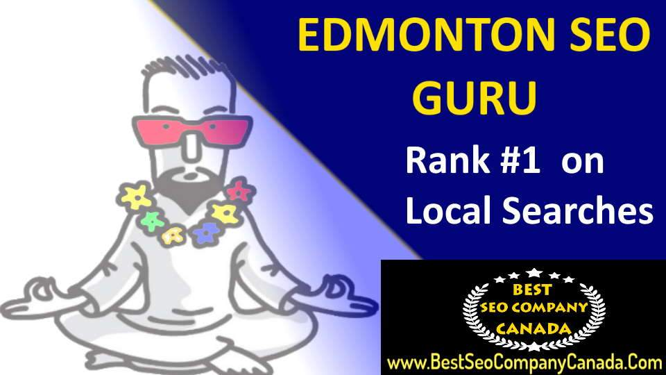 edmonton seo guru rank you on local searches