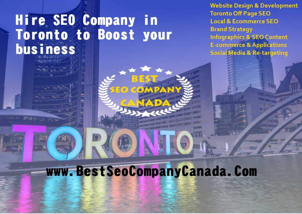 hire seo company in toronto