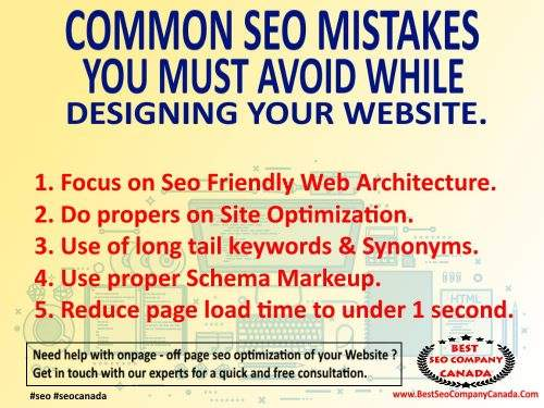 5 common seo web development mistakes #seoedmonton $seotoronto #seocanada #seoservices