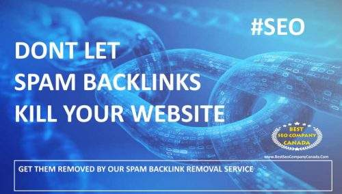SPAM BACKLINKS REMOVAL SERVICES #SEO #SEOCANADA