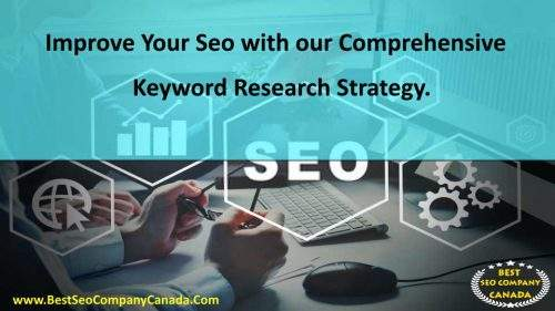 improve seo with keyword reserch in toronto