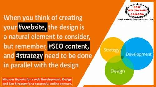 web development and seo strategy