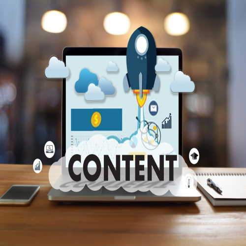 content creation for websites, video, text, infographics