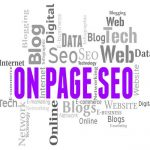 on page & off page seo activity