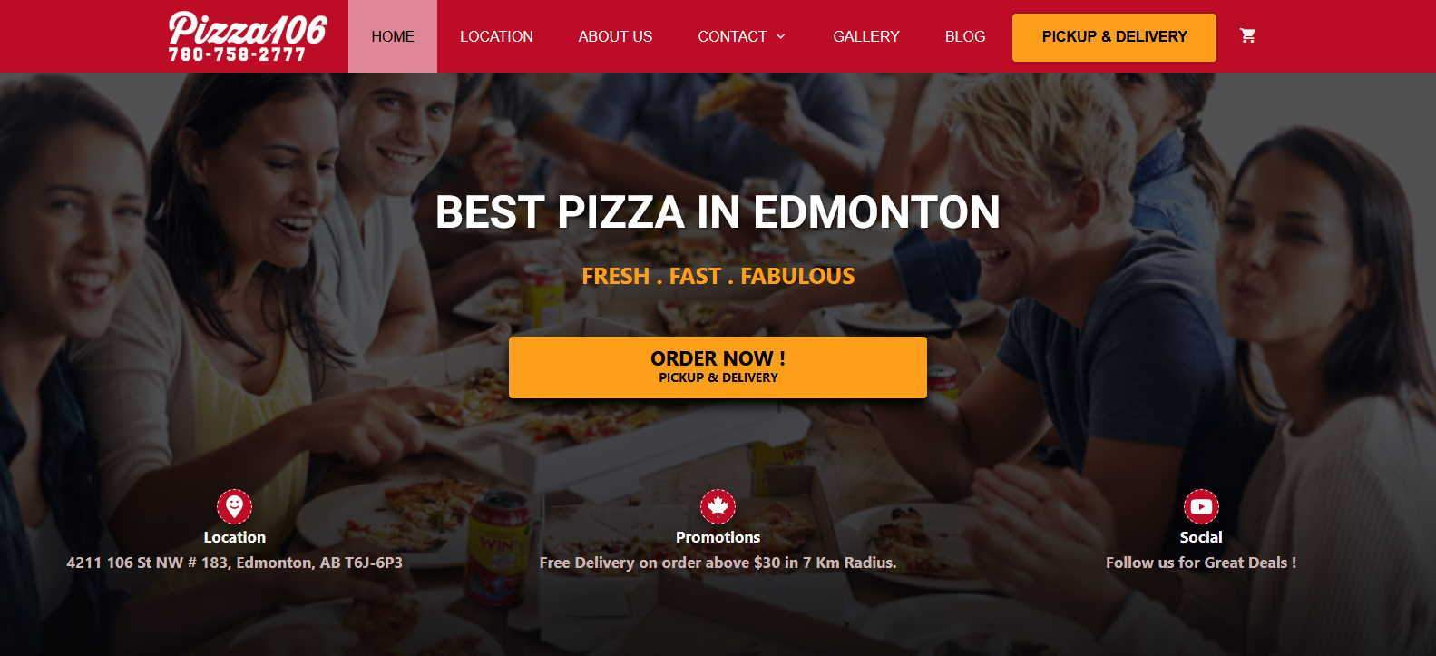 pizza106 case study