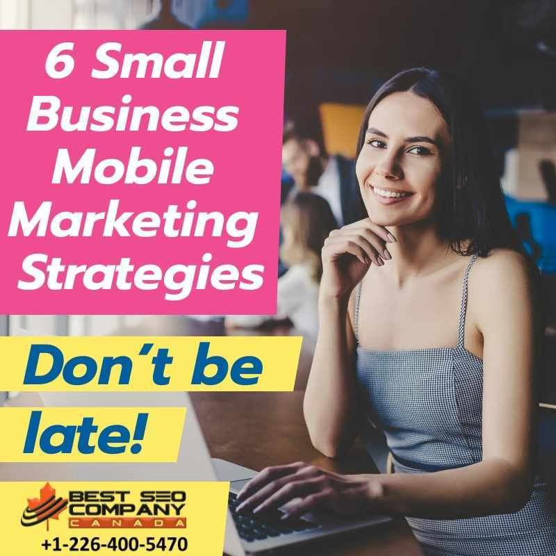 6 Small Business Mobile Marketing Strategies