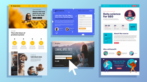 1 6 500x279 - Effective landing Page: How to Create it and What Characteristics it Should Have.